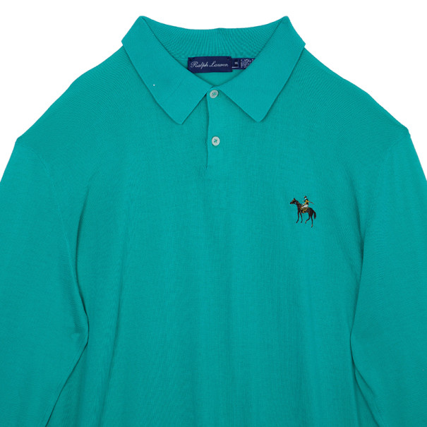 Ralph Lauren Green Long Sleeve Pony Pullover XXL