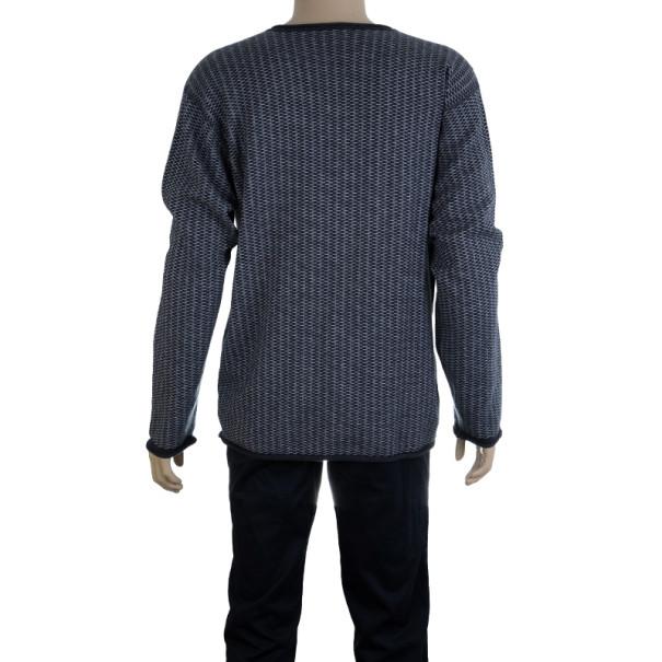 Armani Collezioni Grey Cashmere Sweater XXL