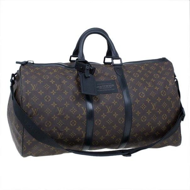 Louis Vuitton Monogram Canvas Waterproof Keepall 55