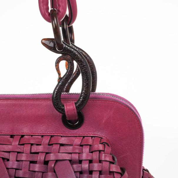 Christian Dior Limited Edition Samurai Framed Satchel
