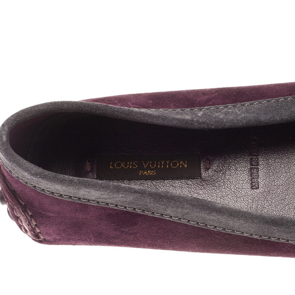 Louis Vuitton Tricolor Oxford Loafers Size 37