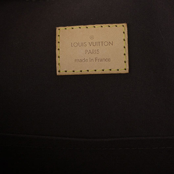 Louis Vuitton Amarante Monogram Verni Alma GM