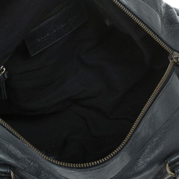 Balenciaga Black Leather Twiggy Bag