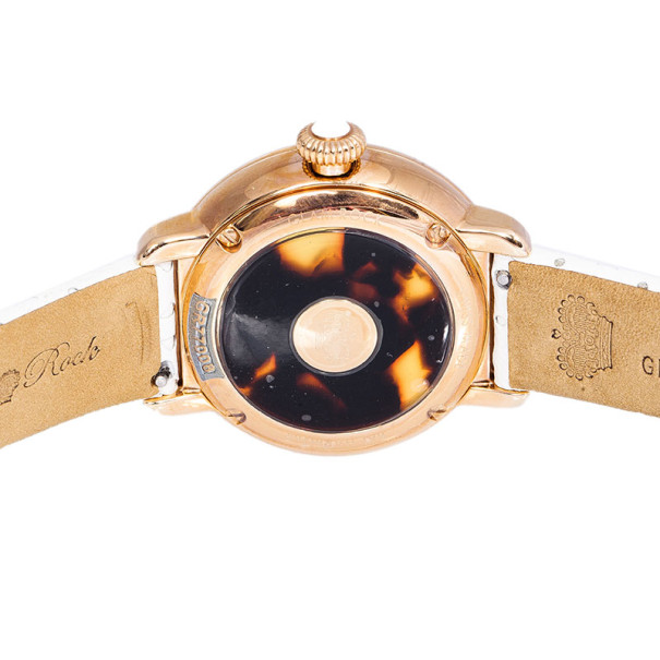 Glam Rock Pink Gold-Plated Steel Bal Harbour GR77007 Women's Wristwatch 40MM