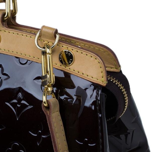 Louis Vuitton Amarante Monogram Vernis Brea MM