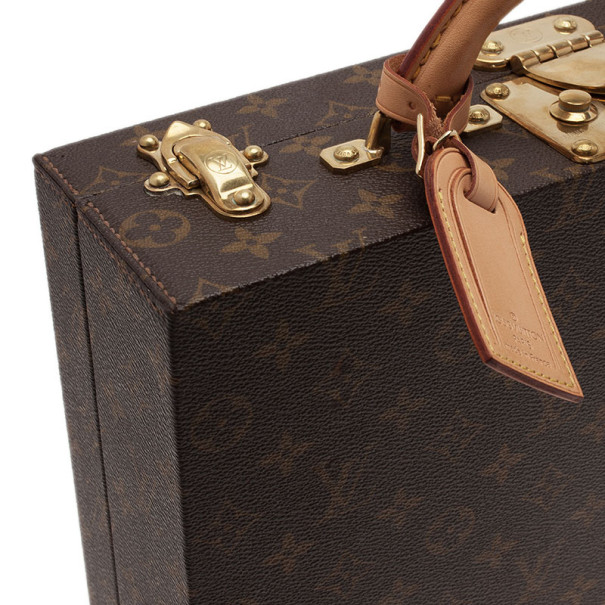 Louis Vuitton Monogram Canvas Jewelry Case