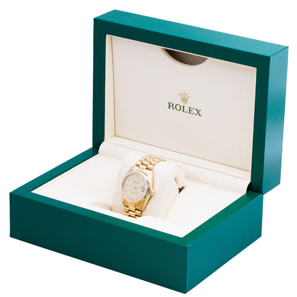 Rolex Gold 18K Yellow Gold DateJust Women's Wristwatch 31MM