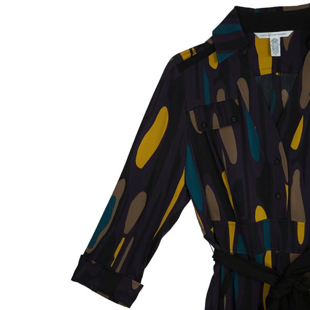 Diane Von Furstenberg Purple 'Leja' Dress L