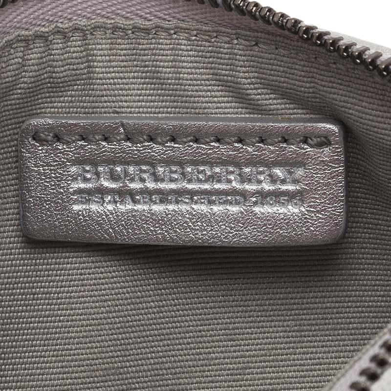 Burberry Silver Coin Pouch