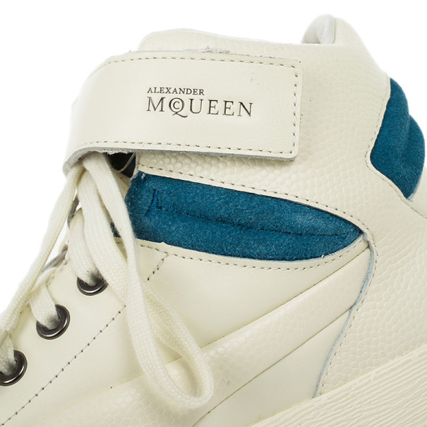 Alexander McQueen for Puma Winter White Street Climb III Sneakers Size 42