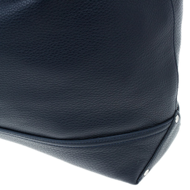 Mulberry Blue Leather Effie Hobo