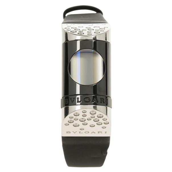 Bvlgari Black Stainless Steel Ipno Women's Wristwatch 21MM