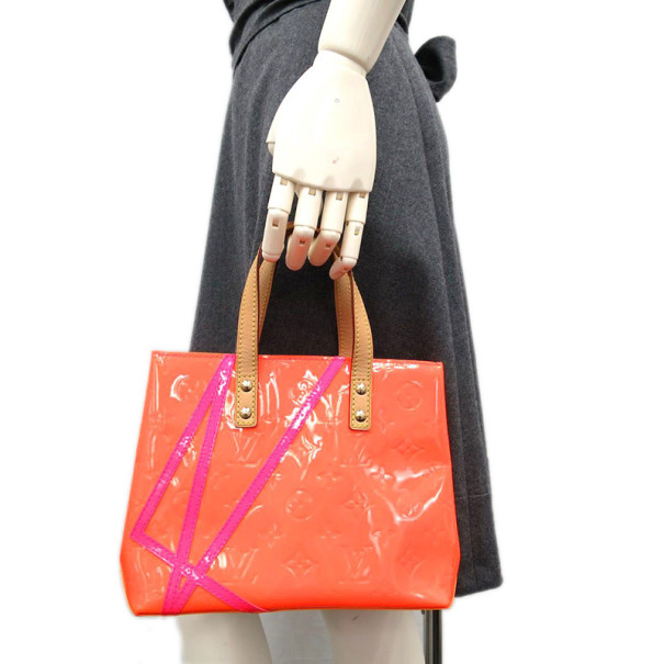 Louis Vuitton Vernis Leather Reade Tote PM