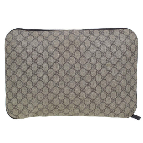 Gucci Monogram Coated Canvas GG Portfolio