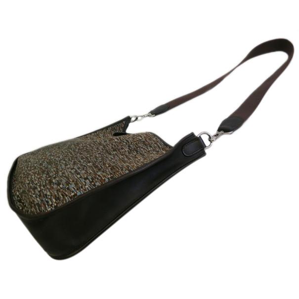 Hermes Brown Vibrato Snip Strap Evelyne 1 PM