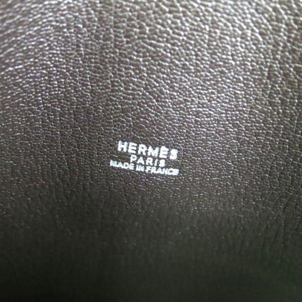 Hermes Rugby Beige Canvas 2-in-1 Hobo
