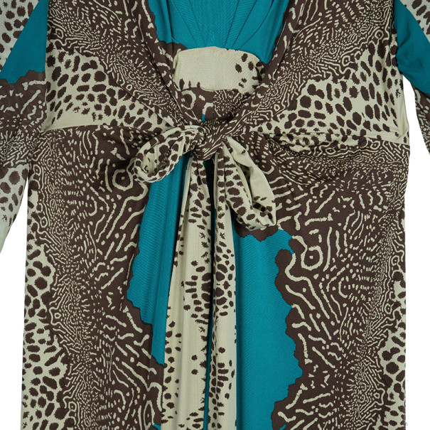 Issa Printed Long Kaftan L