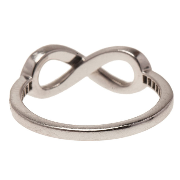 co infinity diamonds platinum ring size 51