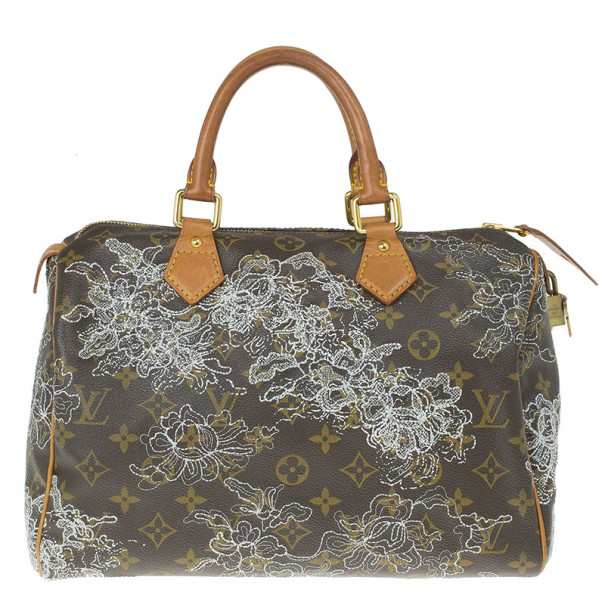 Louis Vuitton Monogram Canvas Dentelle Speedy 30