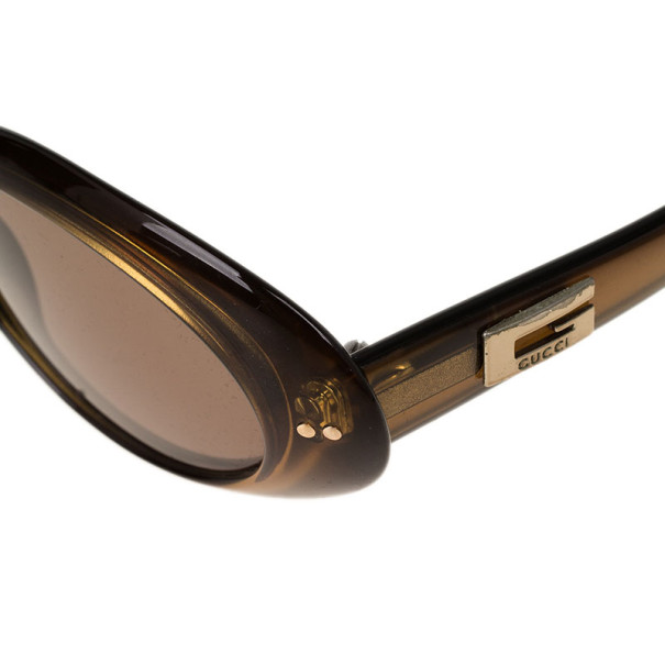Gucci Brown GG2413 Vintage Sunglasses