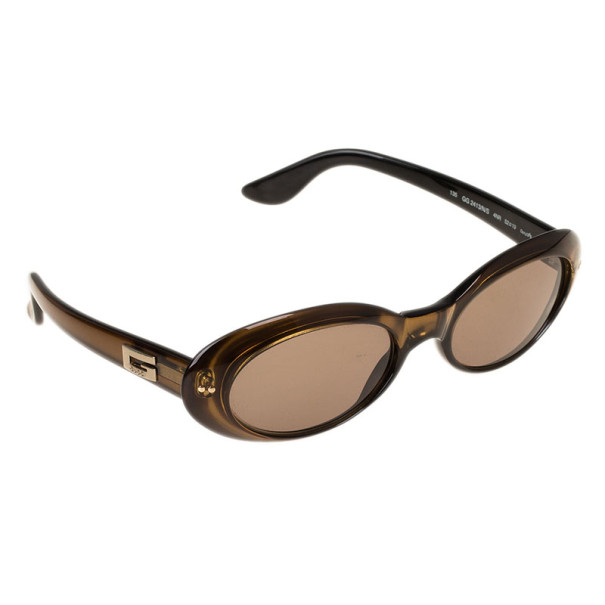 Gucci Brown GG2413 Vintage Sunglasses