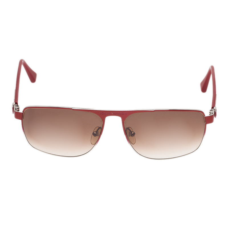 Louis Vuitton Red Knowlton Sunglasses