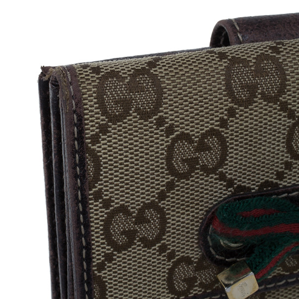 Gucci GG Canvas Princy Compact Wallet