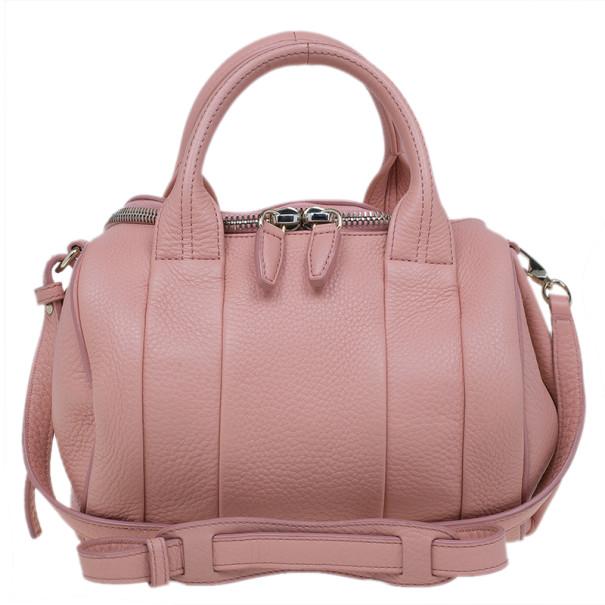 Alexander Wang Pink Leather Rockie Bag