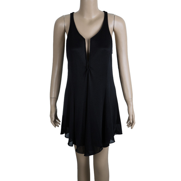 Giorgio Armani Black Cocktail Dress M