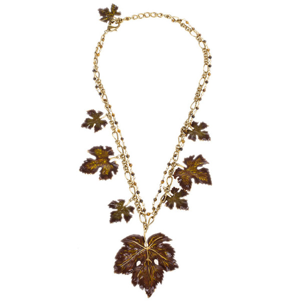 Dolce & Gabbana Leaves Necklace