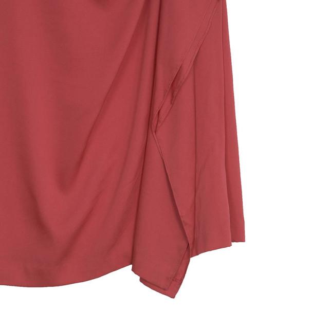 Diane Von Furstenberg 'Alba' Crepe Buckle Dress S