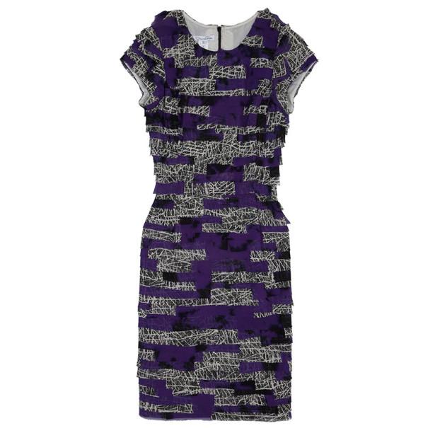 Oscar de la Renta Layered Dress L