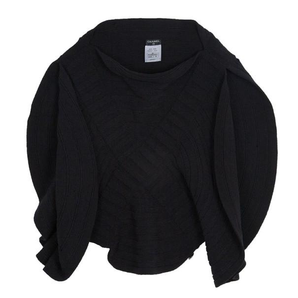 Chanel Circular Knit Top S