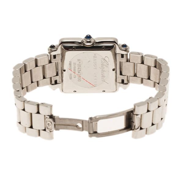Chopard Beige Stainless Steel Happy 2000 Women's Wristwatch 27MM
