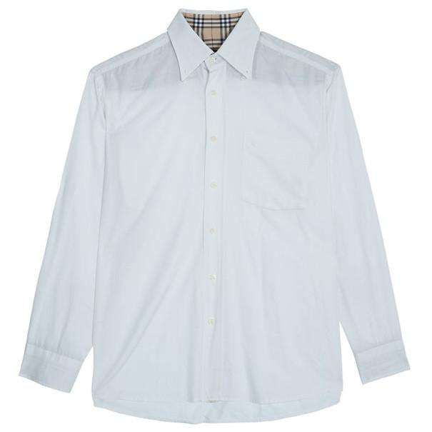Burberry Men's White Shirt EU41