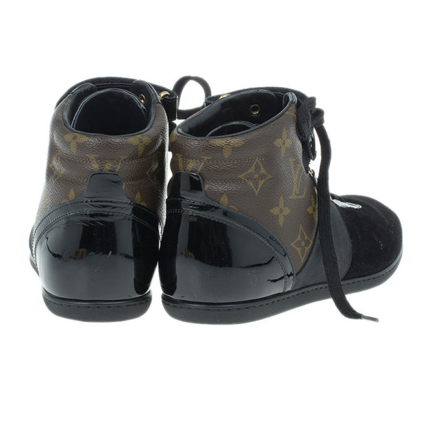 Louis Vuitton Move Up Sneaker Boots Size 37.5