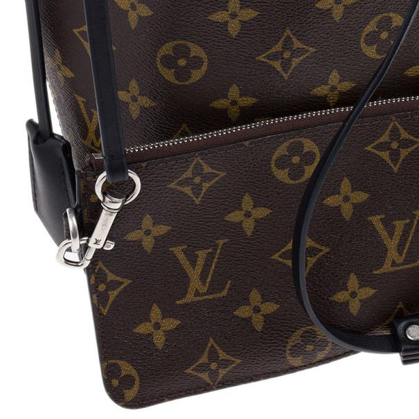 Louis Vuitton Monogram Idole Black Autres Hobo GM