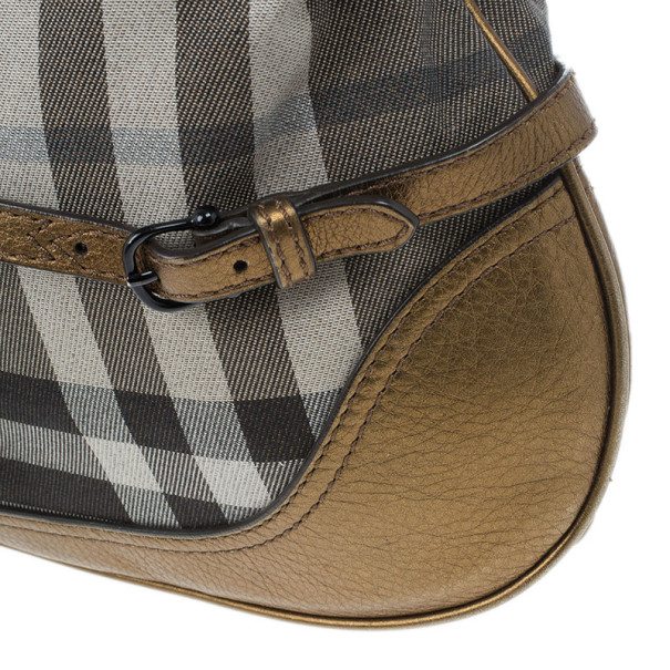 Burberry Smoked Check Hobo