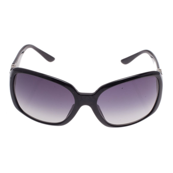 Bvlgari Black 8008B Crystal Temple Sunglasses