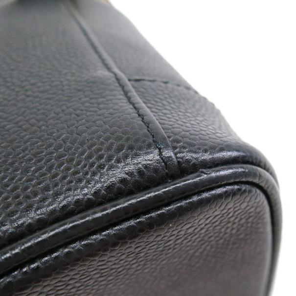 Chanel Black Caviar Vanity Bag