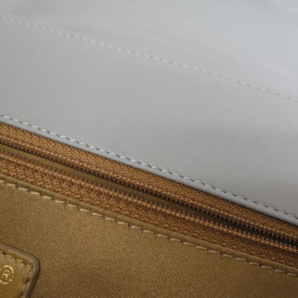 Chanel Grey Lambskin 2.55 Flap Hobo