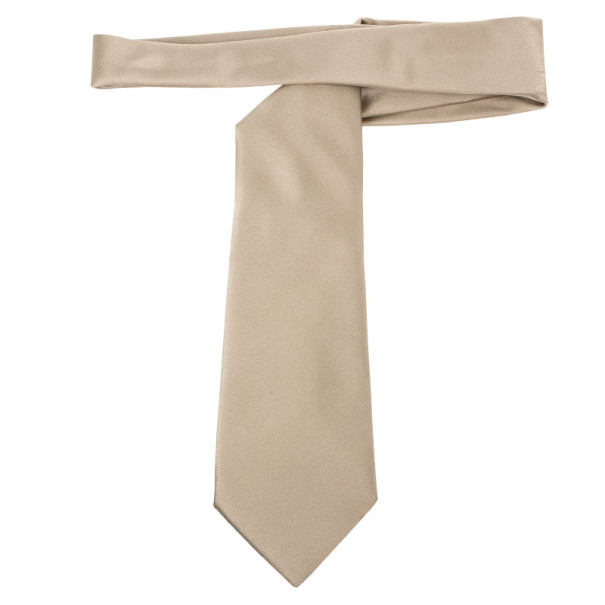 Burberry Gold Silk Tie