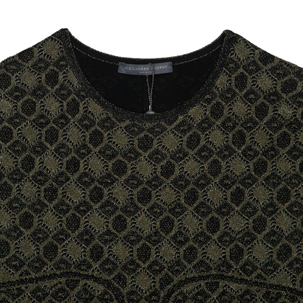 Alexander McQueen Knit Print Dress M