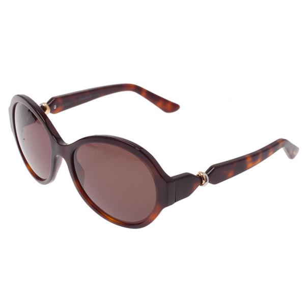 Cartier Tortoise Frame Trinity De Cartier Sunglasses