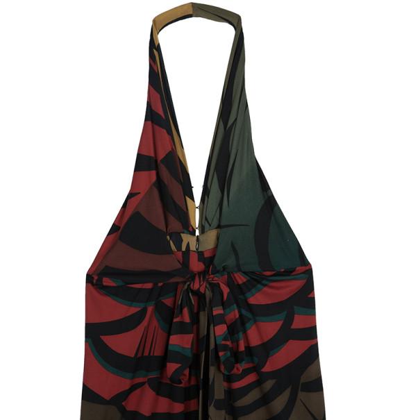 Issa London Abstract Halterneck Dress M