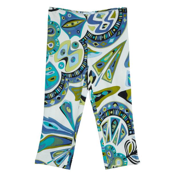 Emilio Pucci Geometric Print Pants L