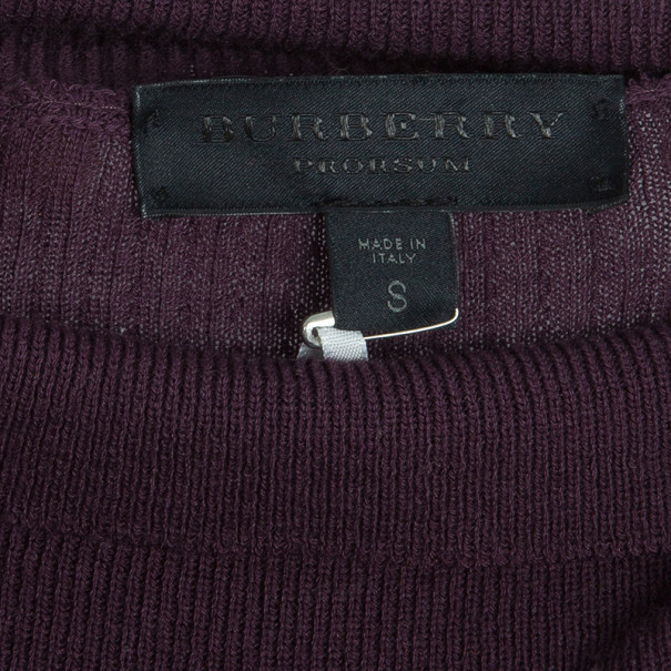 Burberry Prorsum Turtleneck Sweater S