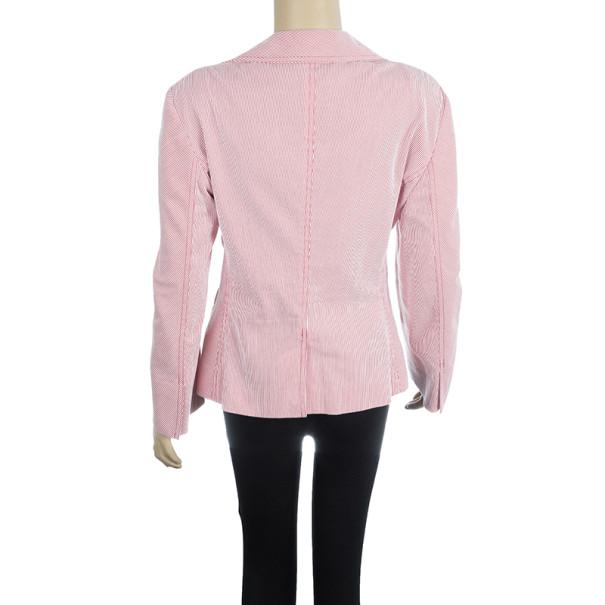 CH Carolina Herrera Striped Jacket L