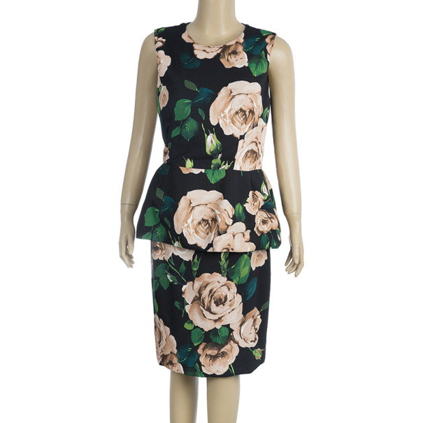 Dolce and Gabbana Floral Print Set M