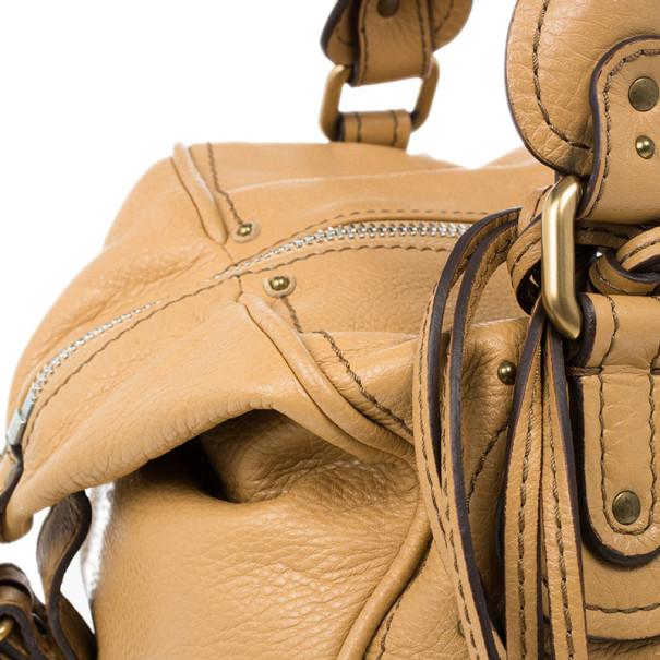 Chloe Brown Leather Front Pocket Paddington